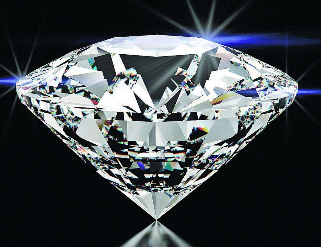 Картинка с большим бриллиантом
