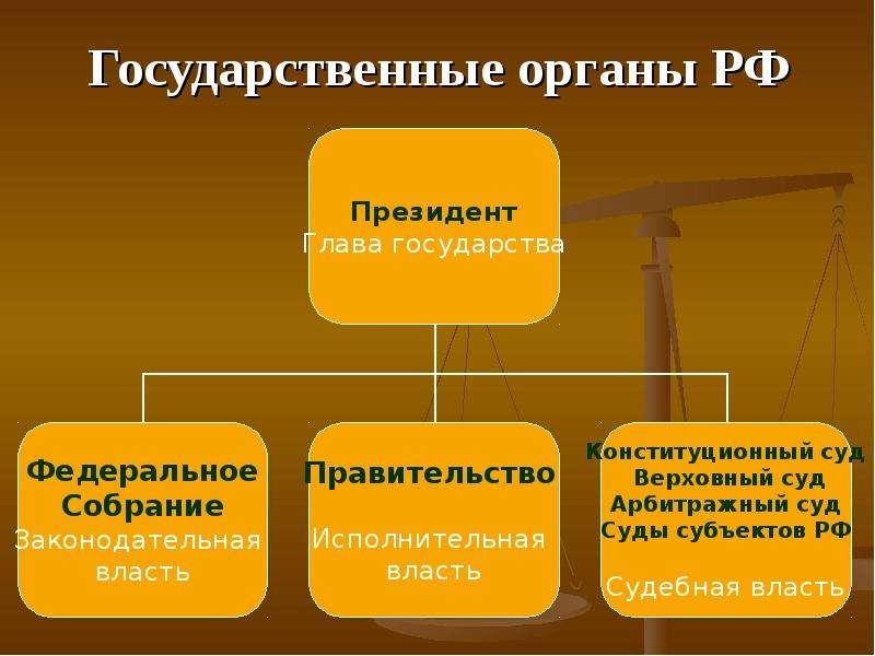 Классификация органов государства: понятие, описание, административные функции
