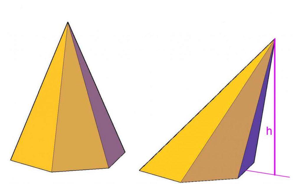 Как рассчитать объем пирамиды по координатам вершин? Методика и пример задачи