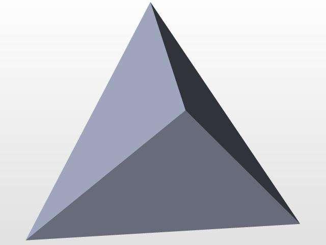 Формула площади правильной треугольной пирамиды и пример решения задачи