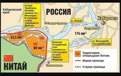 Сухопутная граница России с Китаем