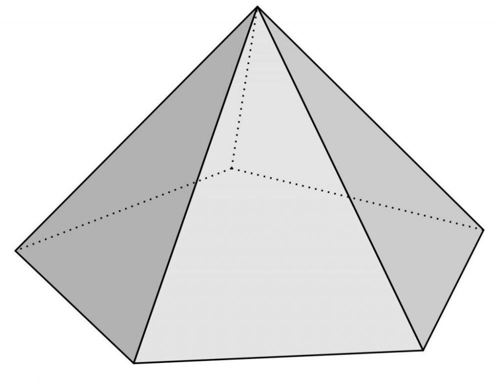 Площадь боковой поверхности и объем усеченной пирамиды: формулы и пример решения типовой задачи