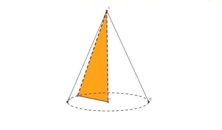 Боковая поверхность конуса обычного и усеченного. Формулы и пример решения задачи