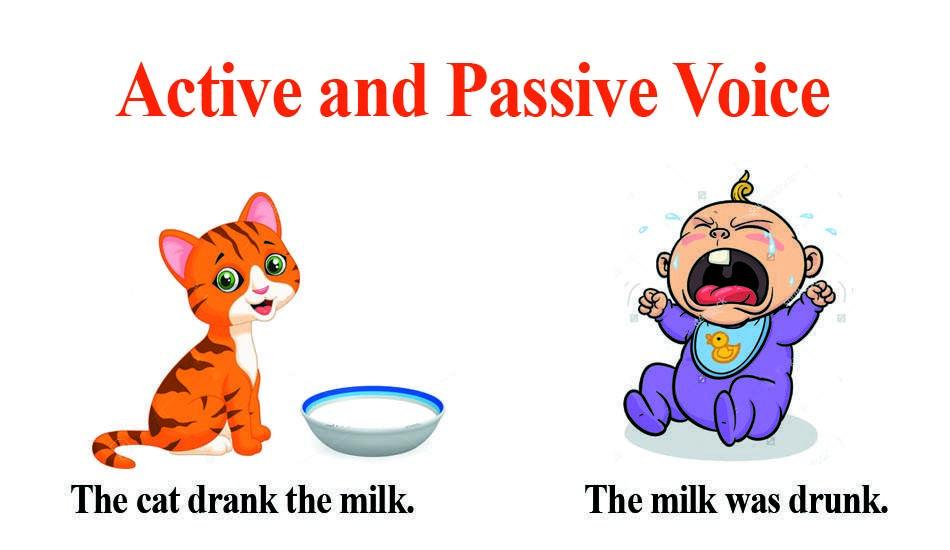 Passive Voice: упражнения с ответами, таблица