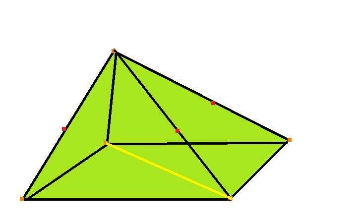 Формула площади боковой поверхности пирамиды произвольного типа и правильной: пример задачи