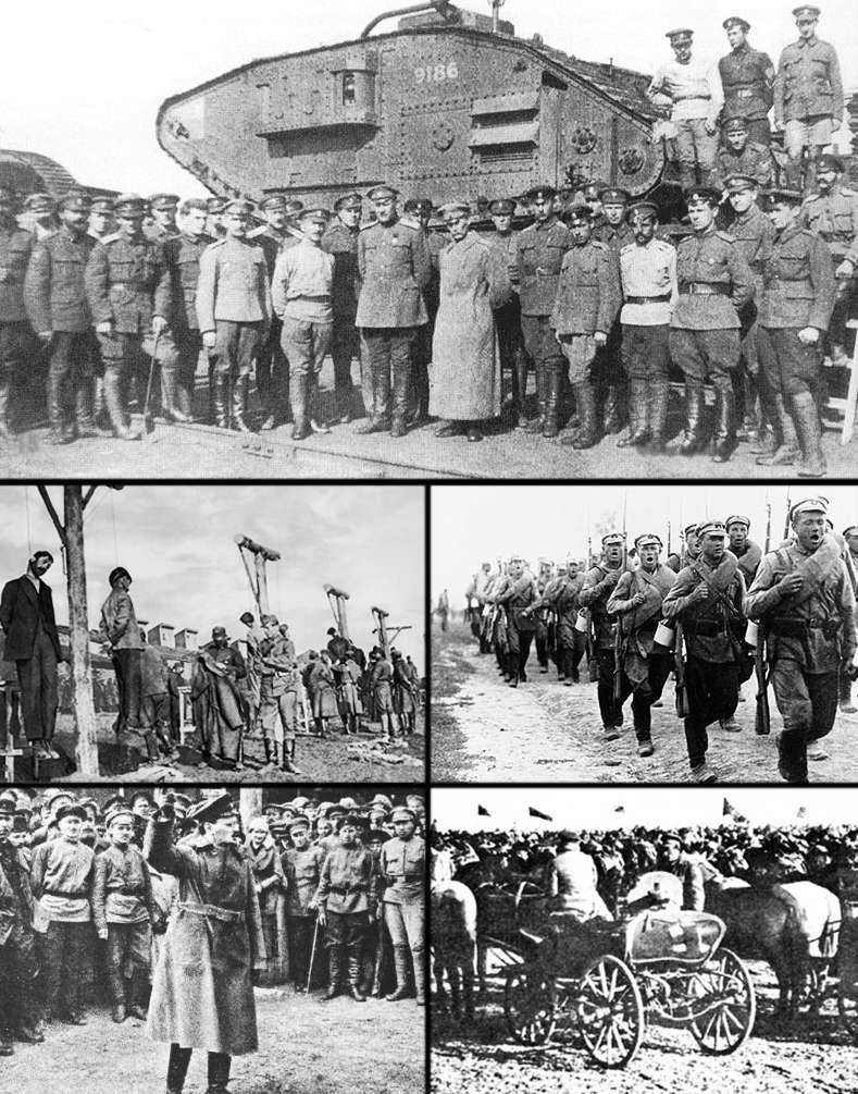 Гражданская война на Дальнем Востоке: история