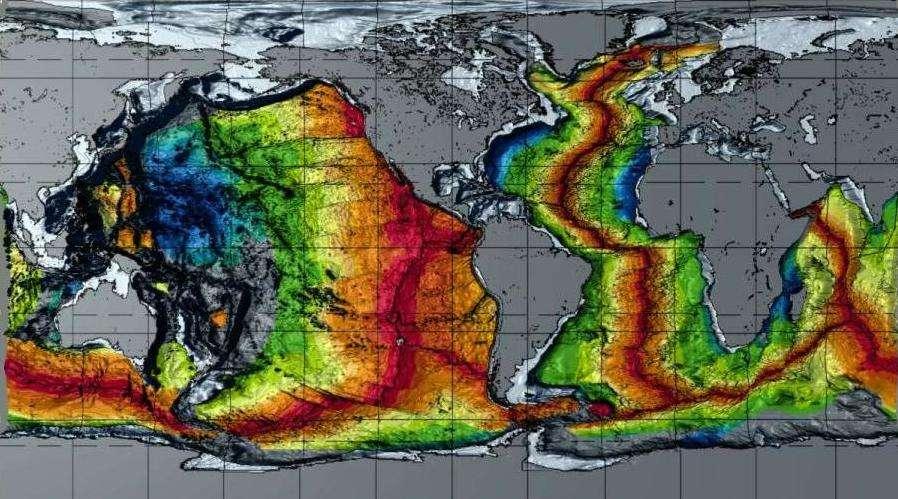 Океаническая кора: основные свойства, строение и глобальная геологическая роль