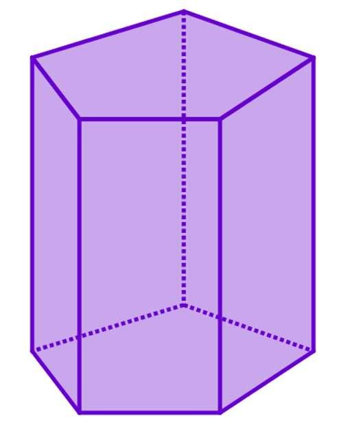 Площадь поверхности прямой призмы: формулы и пример задачи