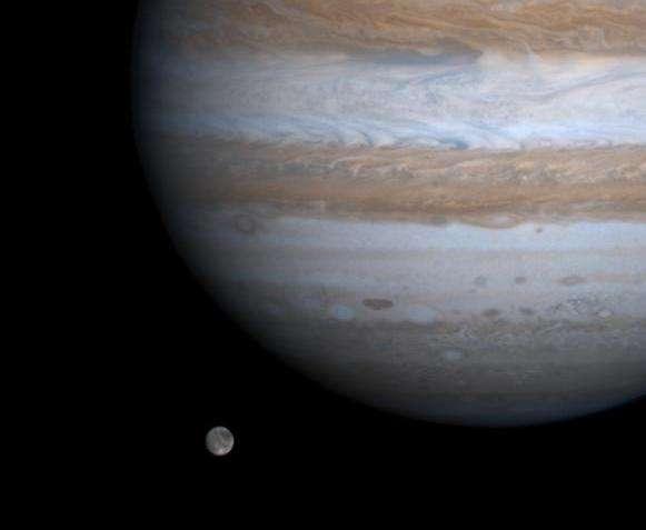 Какой самый крупный спутник Юпитера?