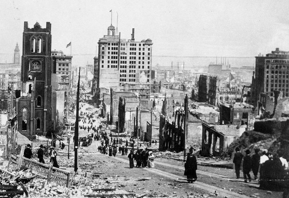 Землетрясение в Сан-Франциско 1906 года: жертвы и разрушения, ликвидация последствий